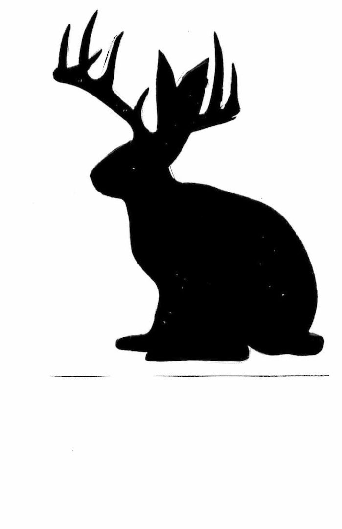 jackalope silhouette cute frog clipart free cute frog clip art black and white
