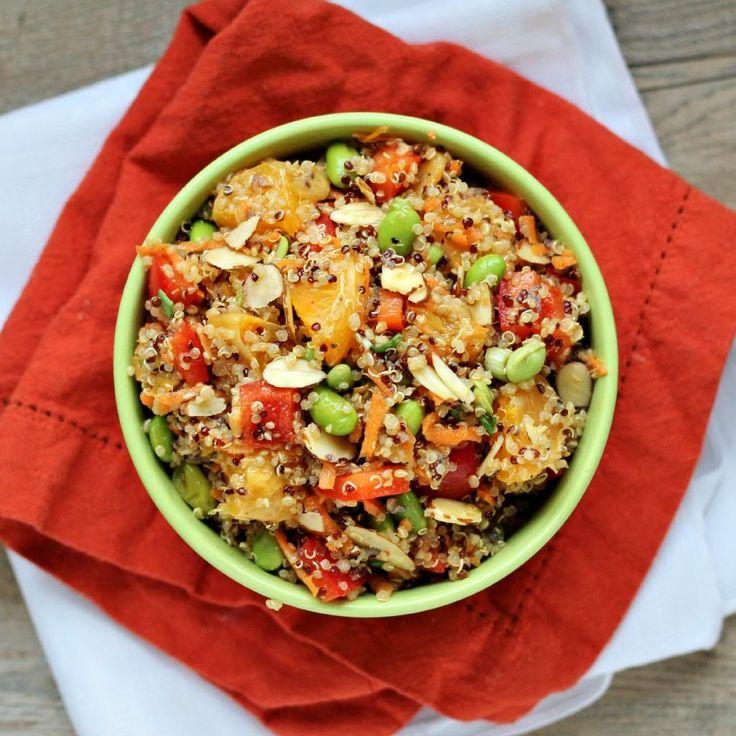 ... quinoa salad recipes dishmaps quinoa salad sesame mandarin quinoa