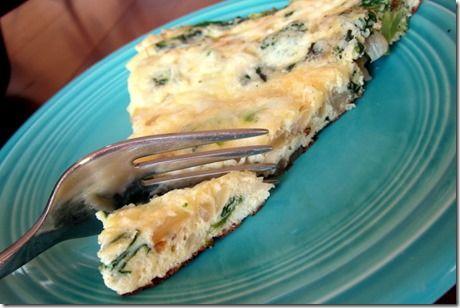 Broccoli & Cheese Frittata | Recipes | Pinterest