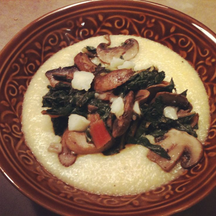 Creamy White Polenta With Mushrooms And Mascarpone Recipes ...