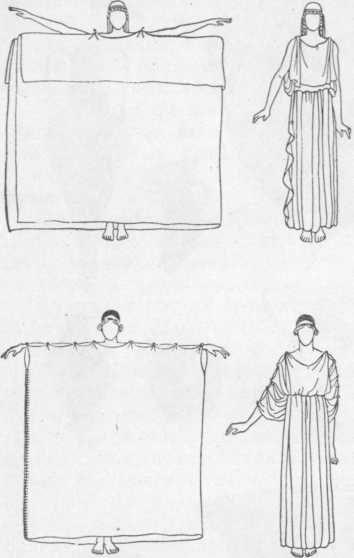 Греческий костюм своими руками из простыни 76