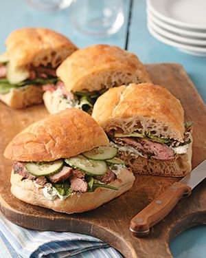 Grilled Steak Sandwich | Cuisine at home eRecipes