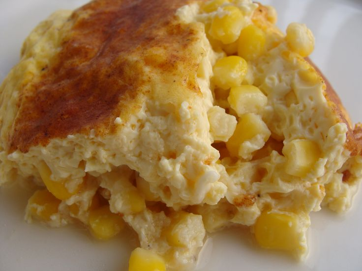 Corn pudding (Lughnasadh/Lammas)~Serves 8