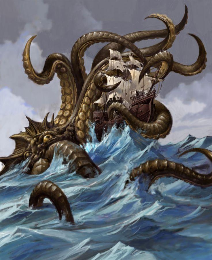 Similiar Minecraft Sea Monster Squid Kraken Keywords