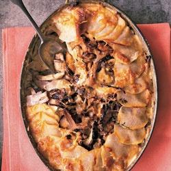 Potato-Mushroom Pie | Recipe