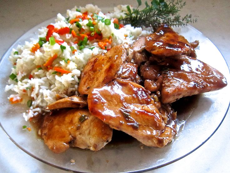 Orange Balsamic Glazed Chicken | Yummies :-) | Pinterest