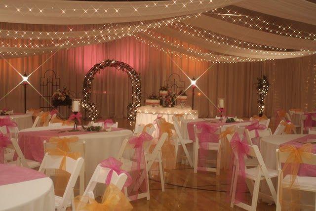 Cute reception idea for a lds wedding wedding pinterest for Cute wedding decoration ideas