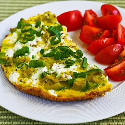 ... great reviews to this Feta Cheese and Avocado Mini-Frittata for Two