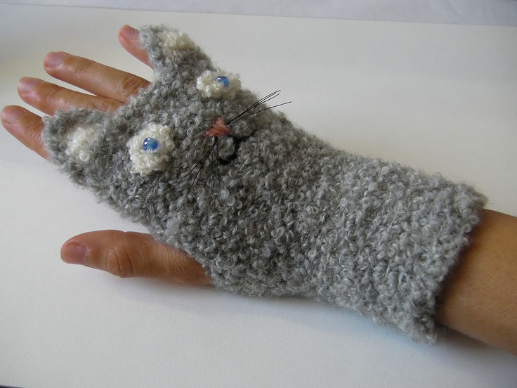 Pin by Natasha Barill on Mittens (knit and crochet) Pinterest
