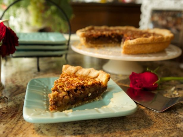 Chocolate Bourbon Pecan Pie would make a sweet addition to any Derby party
