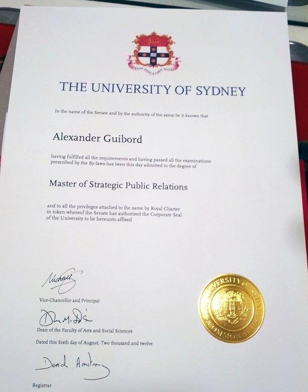 Public Relations school of physics university of sydney