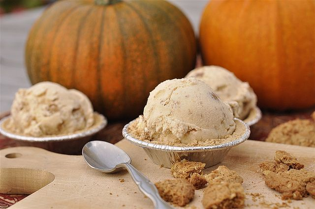 Pumpkin Pie Ice Cream by yourhomebasedmom, via Flickr