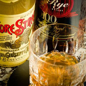 The Rye Witch Cocktail- rye, strega, sherry, orange bitters