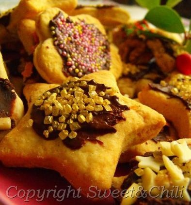 Christmas cookies sweet amp chili recipes pinterest