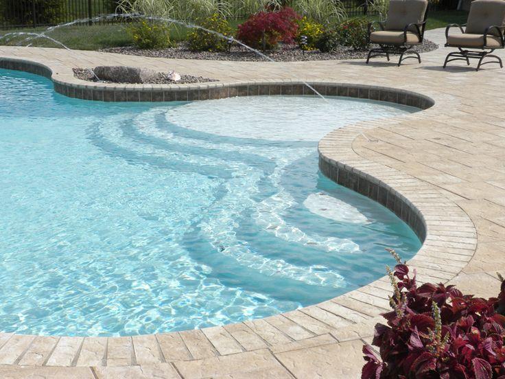 Unique inground pools joy studio design gallery best for Custom swimming pools