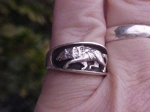 Wolf pack ring - photo#6