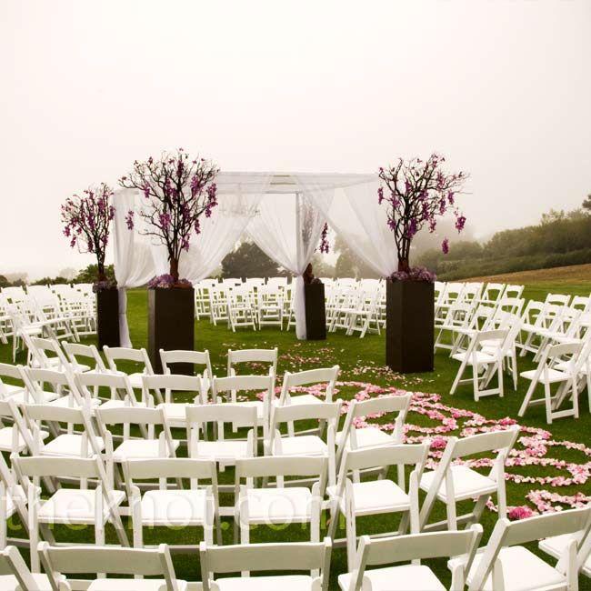 circular wedding ceremony 40 acres wedding pinterest