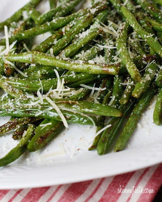 Roasted Parmesan Green Beans - Click image to find more hot Pinterest ...