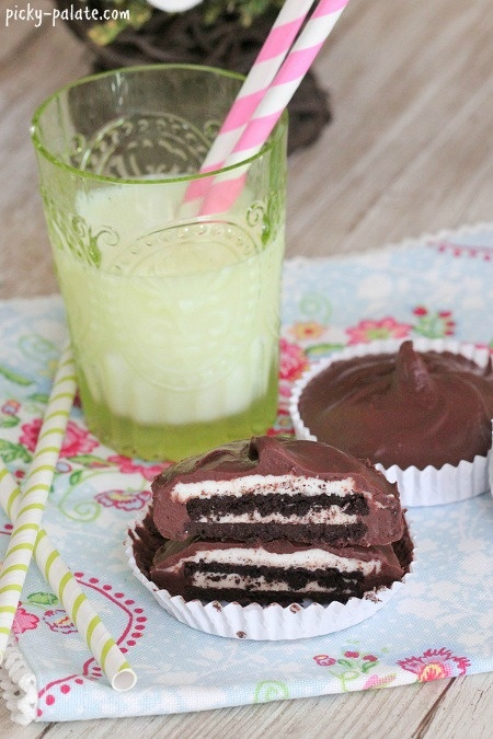 Recipe for chocolate oreo buttercream cups, super easy and super yummy ...