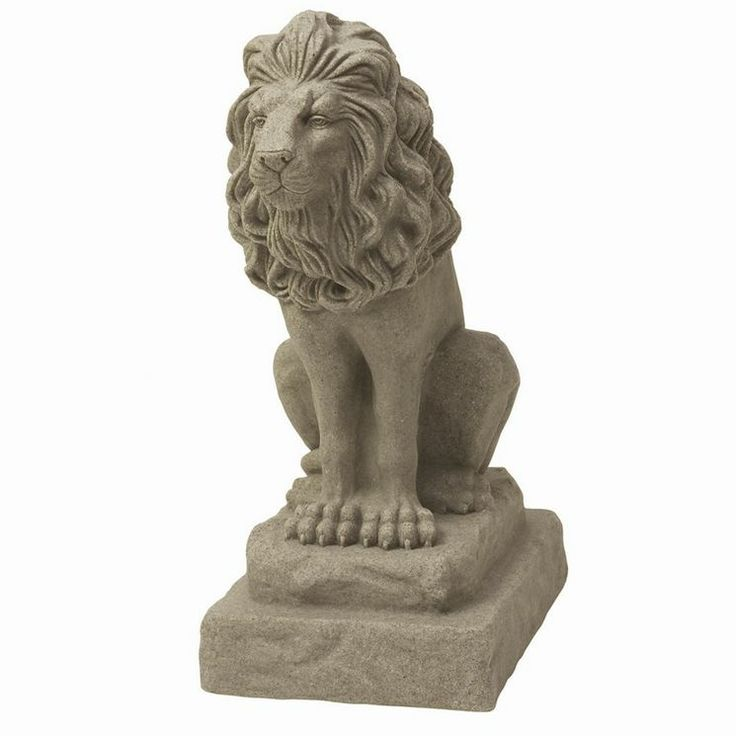 Lion statue for home - photo#3