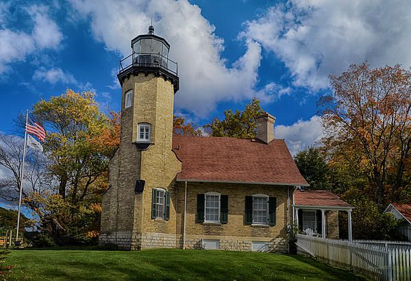 White river light station v2 by anne lacy