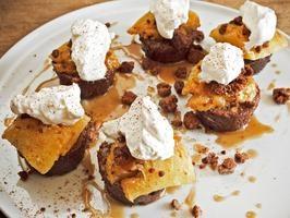 Caramelized White Chocolate and Pumpkin Cheesecake | Recipe