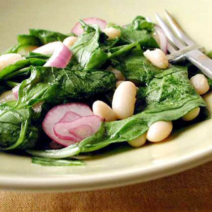 Tuscan Bean and Wilted Arugula Salad by Cooking Light