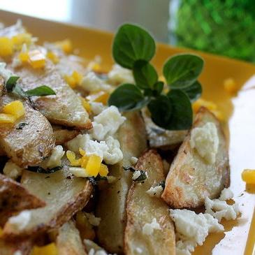 FitSugar Reader Recipe: Oven-Baked Feta Fries - www.fitsugar.com