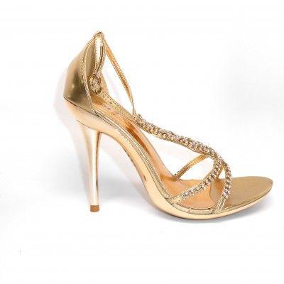 Vegan Dress Shoes Women | Bakers Women s Libbi Gold Vegan High Heels