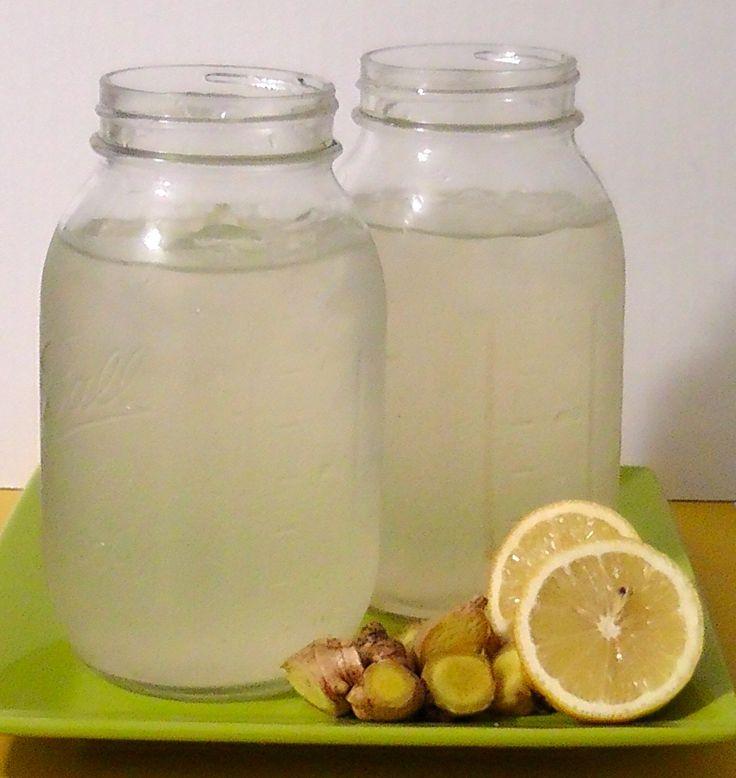 Lemon Ginger Iced Tea | Everyday Foods | Pinterest