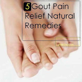 Gout Pain Relief Natural Remedies | Gout | Pinterest