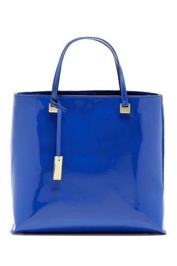 ivanka trump julia aquatic shine satchel by ivanka trump on hautelook