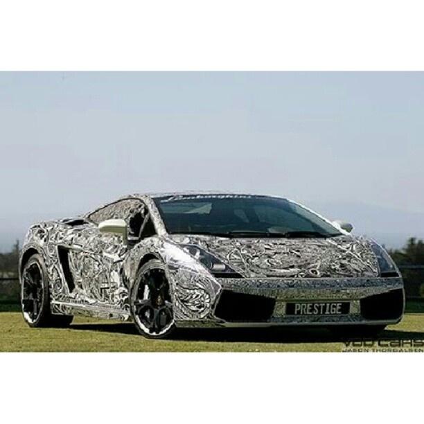 Lamborghini Gallardo Tattoo Wrap