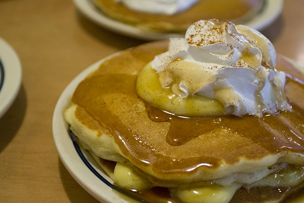 IHOP's White Chocolate Raspberry, Pumpkin and Eggnog Pancakes for the ...