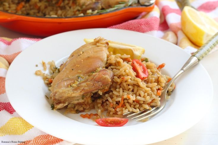 Brown rice and chicken skillet recipe | Good Eats | Pinterest