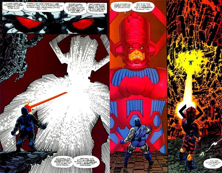 Darkseid vs Galactus | Superheroes | Pinterest
