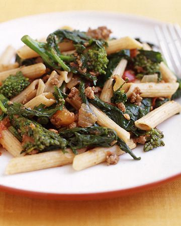 PointsPlus Pasta with Broccoli Rabe and Bolognese Sauce | Recipe