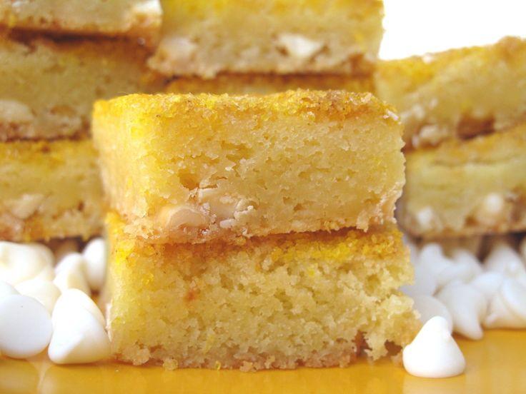 Chewy White Chocolate Lemon Bars | Lemon and more Lemon | Pinterest