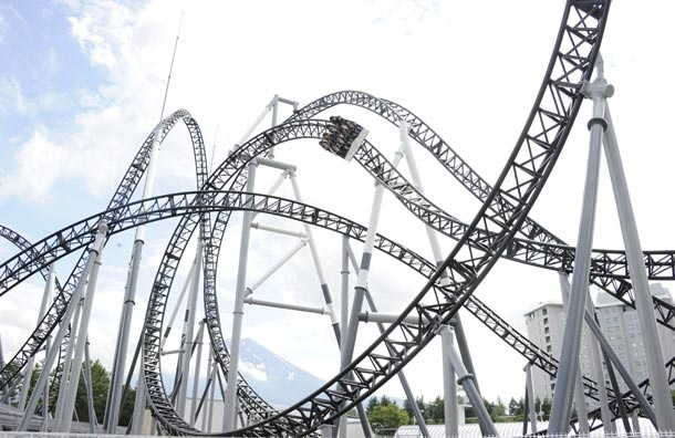 Yes, I would love to ride this roller coaster!