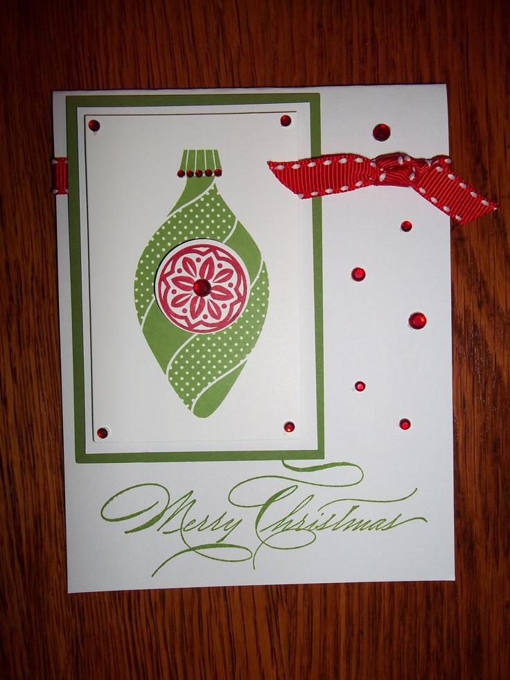 Christmas Card | Scrapbook Ideas and Cards | Pinterest