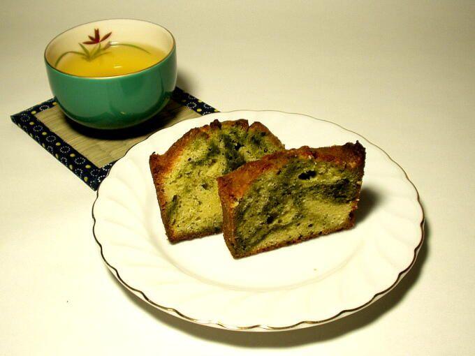 Matcha Marble Pound Cake | All Food Matcha(Green Tea) | Pinterest