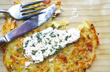 roesti with shallots and pancetta | foodyumyum | Pinterest