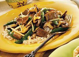 beef stir fry wild mushroom and beef stir fry recipes dishmaps wild ...