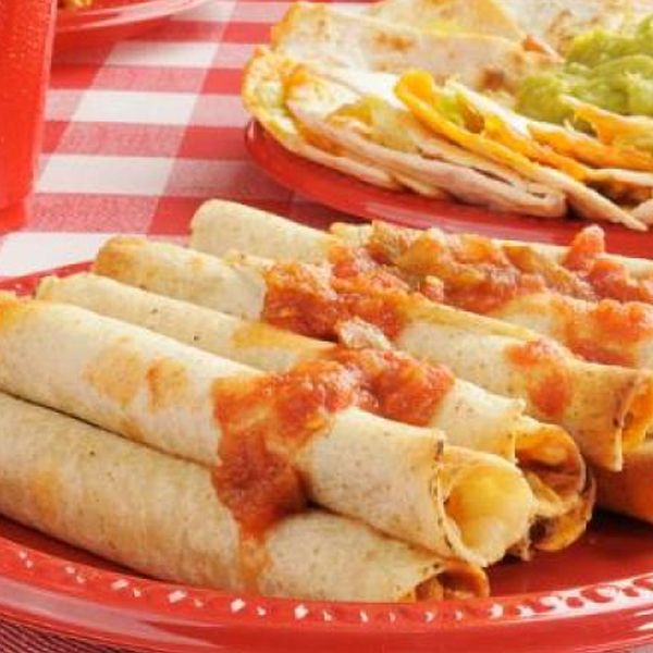 Spicy Potato Taquitos Recipe from Authentic Mexican Kitchen