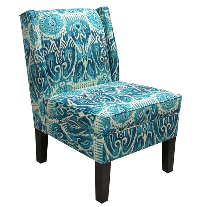 maya accent chair in teal for the home pinterest