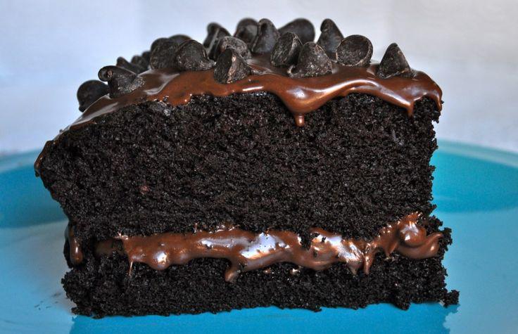 Vegan Chocolate Cake | Vegan Foods | Pinterest