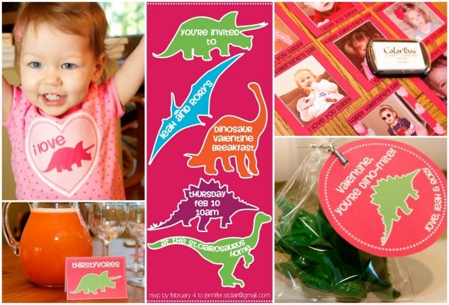 Dinosaur Valentine's Day Party!