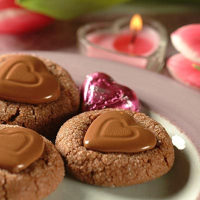 These Chocolate Obsessions cookies are an attractive treat and a perfect and delicious addition to a Valentine's dessert selection