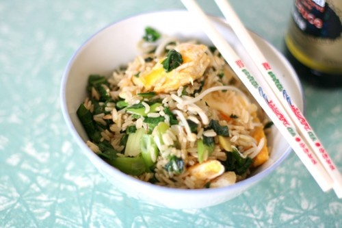 Quick fried rice | Recipes | Pinterest