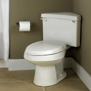 Corner Toilet : Corner toilet! small bath Pinterest